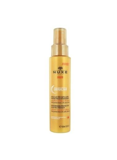 Nuxe Sun Moisturising Oil For Hair - Nemlendirici ve Koruyucu Saç Bakım Yağı 100 ml Renksiz